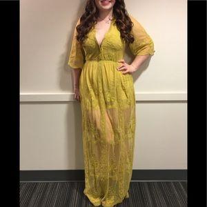 Floor Length Sunshine Dress